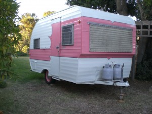 Rosarita's Resorts Vintage Trailer Rental