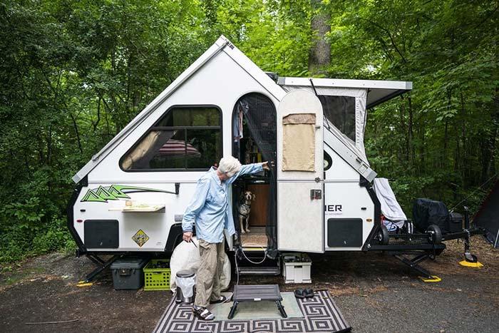 Pop Ups And Tent Trailers Camper Blue Book Value